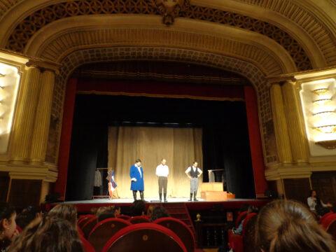 Crítica de LES MISÉRABLES de bricAbrac Teatro del IESO Pinares de Pedrajas - Teatro en Francés