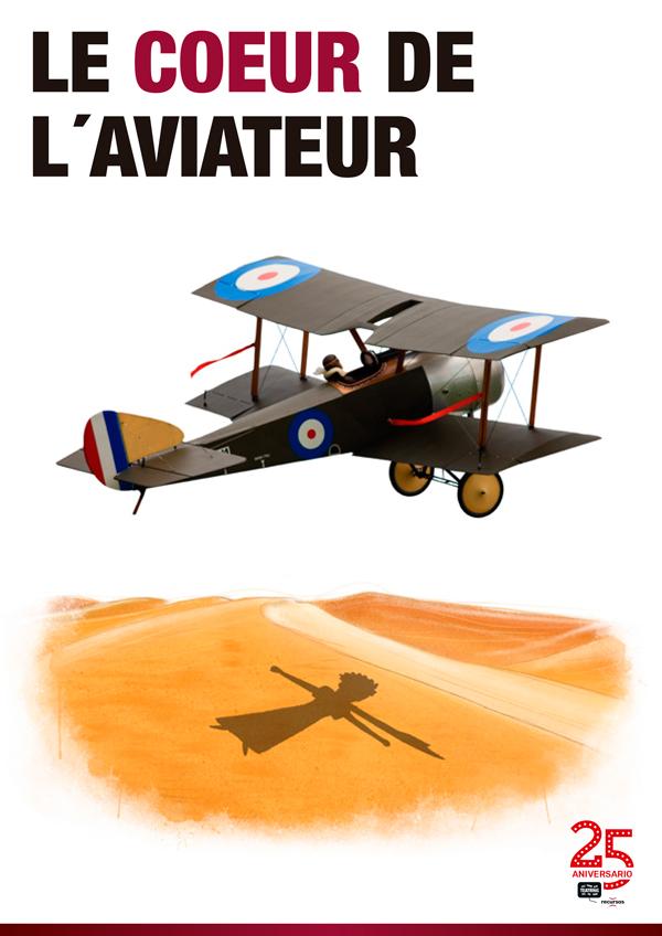 LE COEUR DE L'AVIATEUR de bricAbrac Teatro - teatro en francés