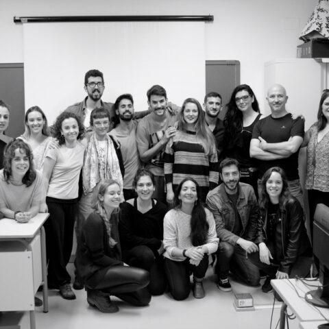 Conferencia Elena Bolaños de bricAbrac Teatro en la ESAD de Sevilla