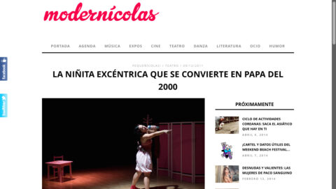 Crítica de C'EST LA VIE de bricAbrac Teatro en MODERNÍCOLAS