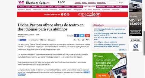 Crítica de CHÂTEAU HANTÉ de bricAbrac Teatro en el DIARIO DE LEÓN