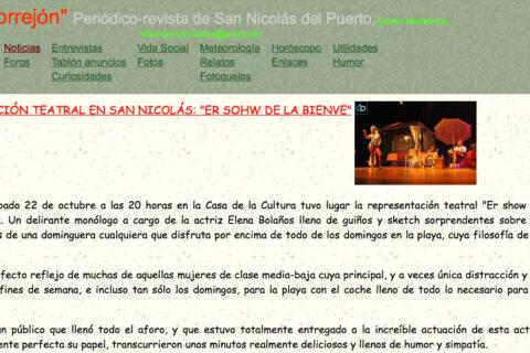 Crítica Er SHOW de la Bienve de bricAbrac Teatro en El Torrejón - Periódico-revista de San Nicolás del Puerto