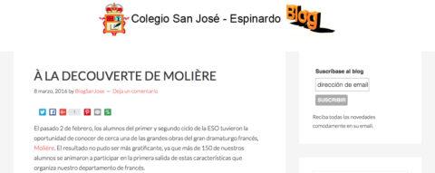 Crítica de L'AVARE de bricAbrac Teatro de Colegio San José Espinardo - Teatro en Francés