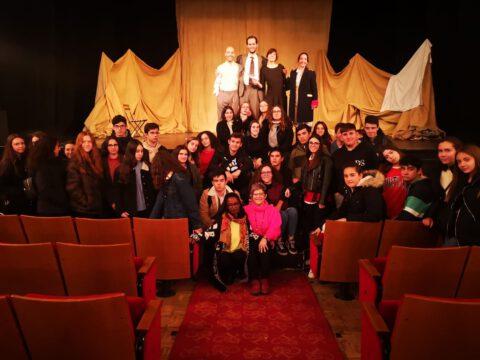 Crítica de LE COEUR DE L'AVIATEUR de bricAbrac Teatro del IES Francisco de Orellana - Teatro en Francés