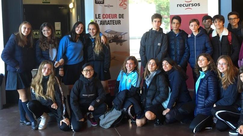 Crítica de LE COEUR DE L'AVIATEUR de bricAbrac Teatro del COLEGIO SAN PEDRO PASCUAL - Teatro en Francés