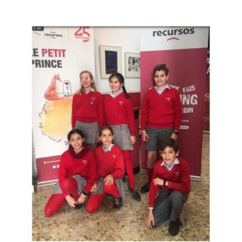 Crítica de Le PETIT PRINCE de bricAbrac Teatro del Colegio Almedina de Córdoba - Teatro en Francés