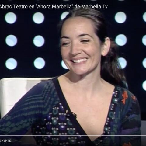 Entrevista de Elena Bolaños de bricAbrac Teatro de la obra C'EST LA VIE en Marbella TV