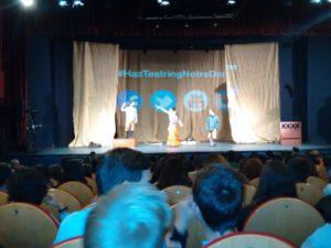 Crítica de NOTRE-DAME DE PARIS de bricAbrac Teatro del ALOHA COLLEGE - Teatro en Francés