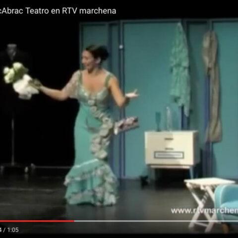 Reportaje de INSOMNIO, Ne me Quitte pas el Sueño de bricAbrac Teatro en RTV Marchena
