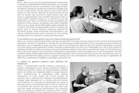 Entrevista en El Bombín de Lautrec