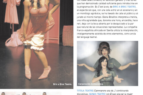 Crítica de C'EST LA VIE de bricAbrac Teatro en Calle20
