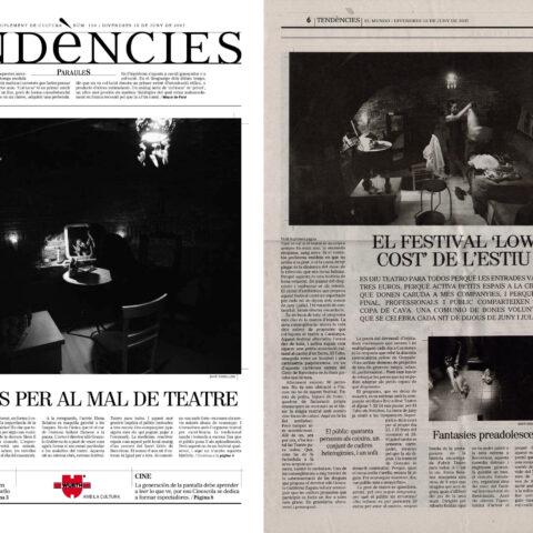 Crítica de C'EST LA VIE de bricAbrac Teatro en Tendències EL MUNDO de Barcelona